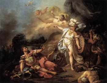 Jacques-Louis David : The Combat of Mars and Minerva